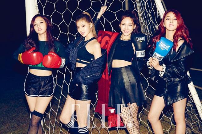 TWICE_ファッション雑誌「ELLE」2015年11月号グラビア3